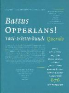 Battus opperlans! taal- & letterkunde