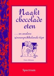 Naakt chocolade eten