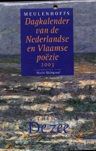 Dagkalender nederlandse en vlaamse poezie 2003