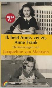 Rainbow pocketboeken Ik heet Anne, zei ze, Anne Frank