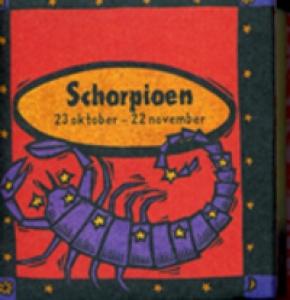 Astrologie mini Schorpioen