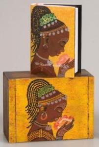 Afrikaanse wijsheden houten kistje
