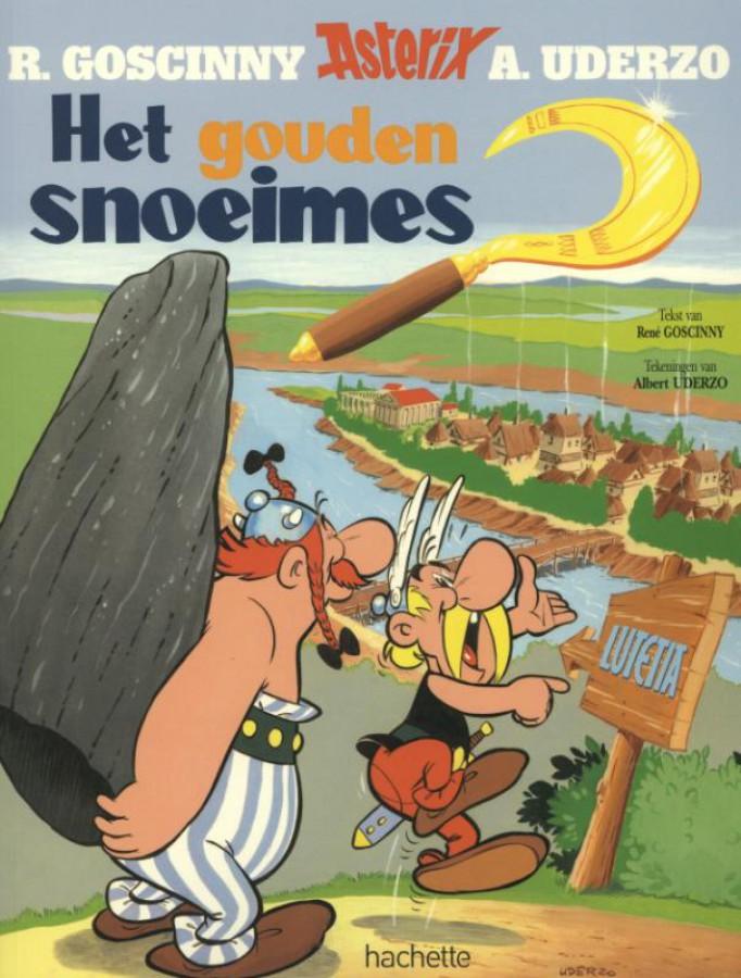 Asterix 2. het gouden snoeimes