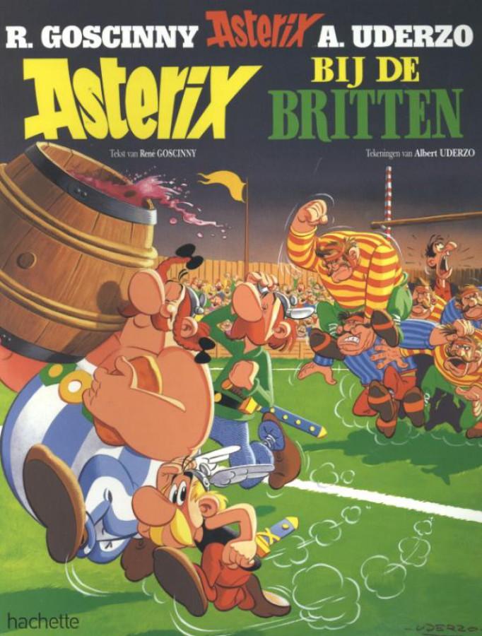 Asterix 8. bij de britten