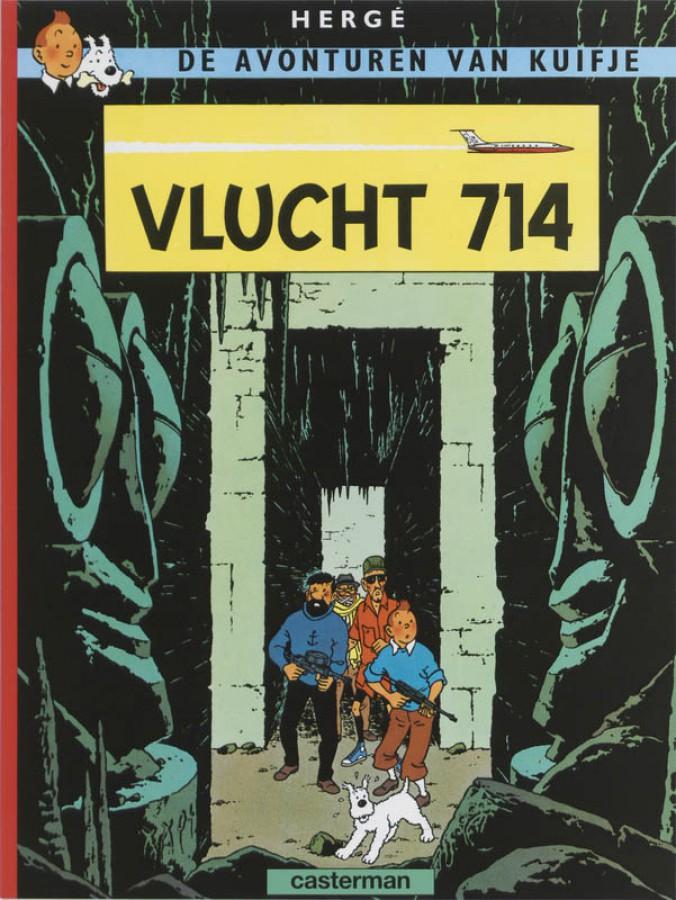 De avonturen van Kuifje 21: Vlucht 714