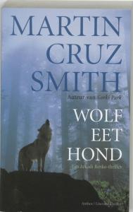 Wolf eet hond