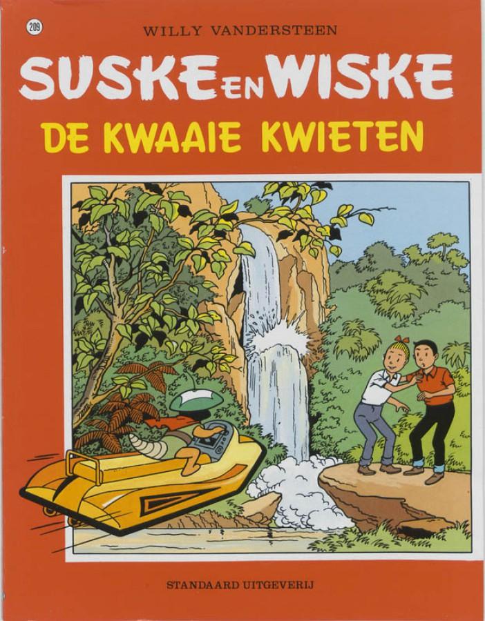 Suske en Wiske De Kwaaie kwieten
