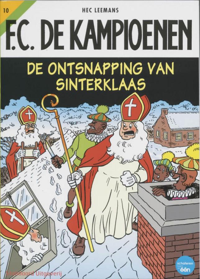 F.C. De Kampioenen De ontsnapping van Sinterklaas