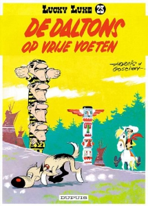 Lucky Luke 23: De Daltons op vrije voeten