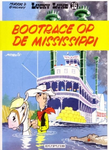 Lucky Luke 16: Bootrace op de Mississippi