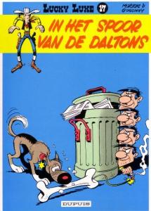Lucky Luke 17: In het spoor van de Daltons