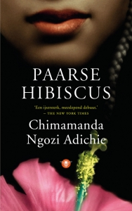 Paarse hibiscus
