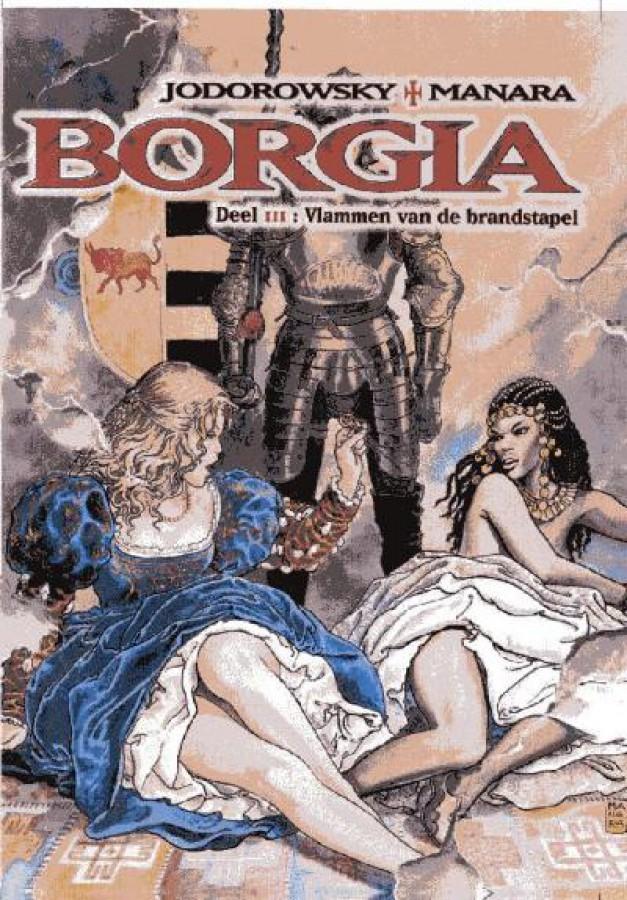 Borgia 3 Vlammen van de brandstapel