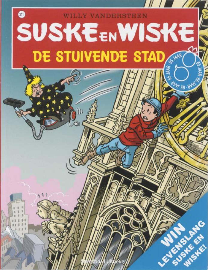Suske en Wiske 311 De stuivende stad