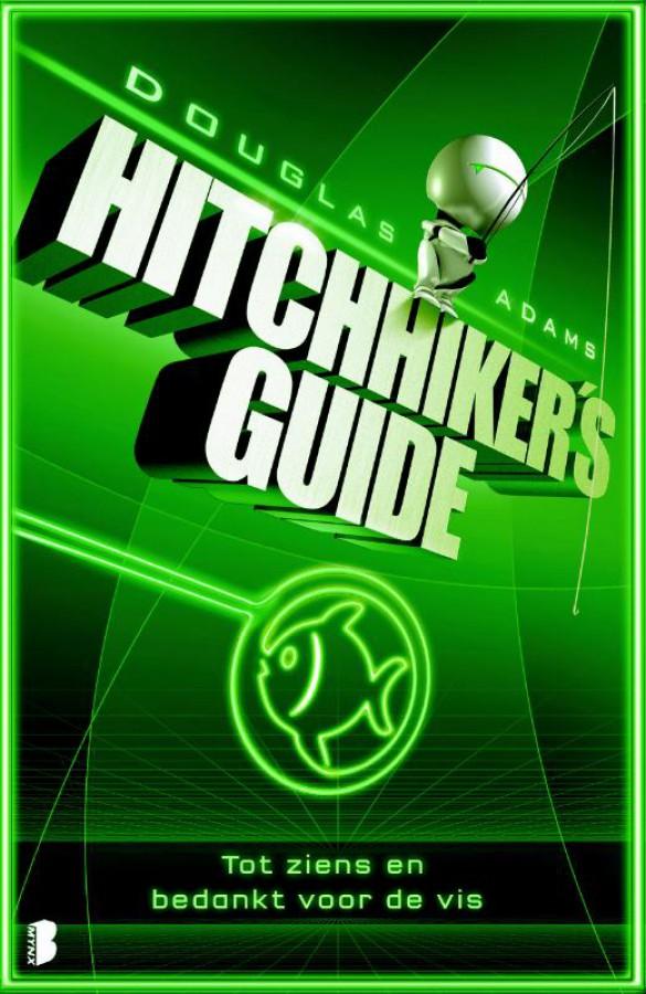 Hitchhiker's Guide Tot ziens en bedankt voor de vis