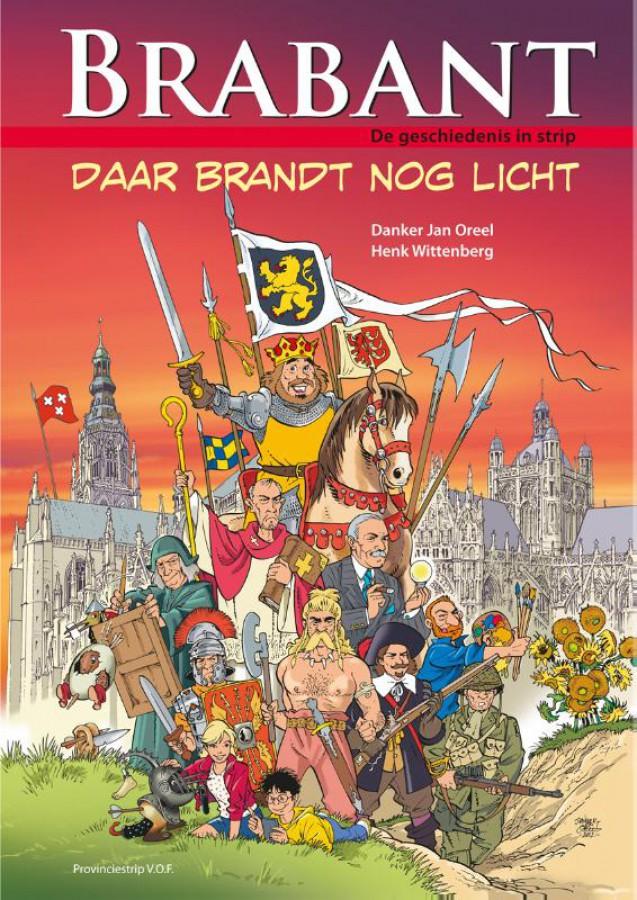 Brabant, de geschiedenis in strip