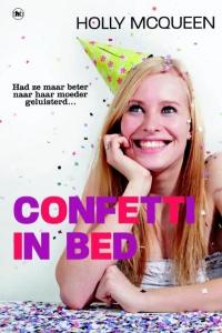 Confetti in bed