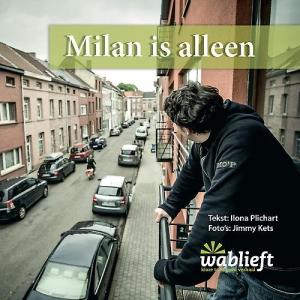 Wablieft-beeldboeken Milan is alleen