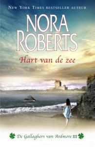 Hart van de zee - deel 3 van De Gallaghers van Ardmore trilogie - Nora Roberts - een uitgave van Harlequin