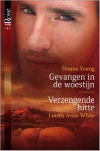 Gevangen in de woestijn / Verzengende hitte, 2-in-1 - Een uitgave van Harlequin Black Rose - romantische thriller
