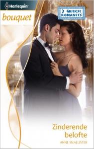 Zinderende belofte - Bouquet3351 - Een uitgave van de romantische reeks Harlequin Bouquet - Deel 3 van de miniserie 3 Griekse romances (2)