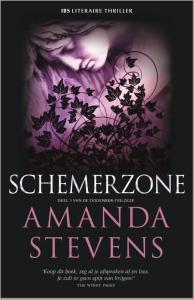 Schemerzone - Literaire thriller - Een uitgave van Harlequin IBS Thriller - Deel 3 van de Dodenrijk-trilogie