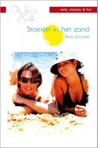Stoeien in het zand - Een uitgave van Harlequin White Silk - sexy chicklit - Deel 1 van Tropisch eiland