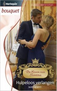 Hulpeloos verlangen - Bouquet 3384 - Een uitgave van de romantische reeks Harlequin Bouquet - Deel 3 van de serieroman De Kroon van Santina
