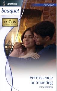 Verrassende ontmoeting - Bouquet 3410 - Een uitgave van de romantische reeks Harlequin Bouquet - Deel 1 van de miniserie De Falcon dynastie