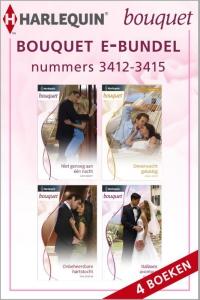 Bouquet e-bundel nummers 3412-3415, 4-in-1 - Een uitgave van de romantische reeks Harlequin Bouquet - eBundel