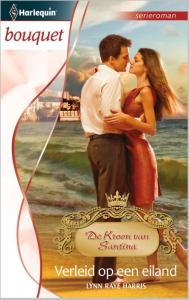 Verleid op een eiland - Bouquet 3416 - Een uitgave van de romantische reeks Harlequin Bouquet - Deel 7 van de serieroman De Kroon van Santina