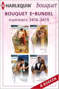 Bouquet e-bundel nummers 3416-3419, 4-in-1 - Een uitgave van de romantische reeks Harlequin Bouquet - eBundel