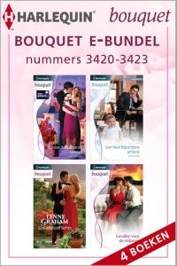 Bouquet e-bundel nummers 3420-3423, 4-in-1 - Een uitgave van de romantische reeks Harlequin Bouquet - eBundel