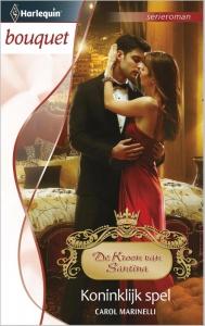 Koninklijk spel - Bouquet 3424 - Een uitgave van de romantische reeks Harlequin Bouquet - Deel 8 van de serieroman De Kroon van Santina