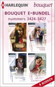 Bouquet e-bundel nummers 3424-3427, 4-in-1 - Een uitgave van de romantische reeks Harlequin Bouquet