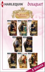 De Kroon van Santina - eBundel met de complete serieroman - Een uitgave van de romantische reeks Harlequin Bouquet