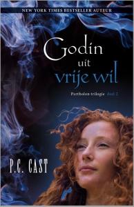 Godin uit vrije wil - deel 2 van de Partholon trilogie - P.C. Cast - een fantasy uitgave van Harlequin