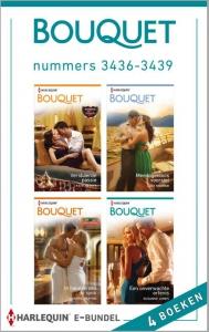 Bouquet e-bundel nummers 3436-3439, 4-in-1 - Een uitgave van de romantische reeks Harlequin Bouquet