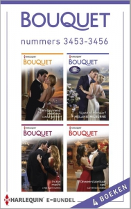 Bouquet e-bundel nummers 3453-3456, 4-in-1 - Een uitgave van de romantische reeks Harlequin Bouquet