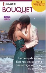 Broers op het liefdespad: Liefde op de rotsen / Een kus als souvenir / Onstuimige verloving - Bouquet Favorieten 383, 3-in-1 - Een uitgave van de romantische reeks Harlequin Bouquet