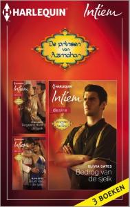 De prinsen van Azmahar - eBundel met de complete miniserie - Een uitgave van de romantische reeks Harlequin Intiem