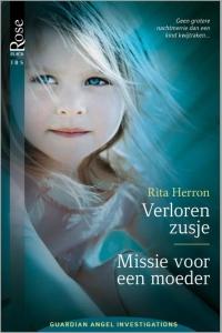 Verloren zusje / Missie voor een moeder, 2-in-1 - Een uitgave van Harlequin Black Rose - romantische triller  - Deel 1 & 2 van Guardian Angel Investigations