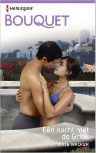 Eén nacht met de Griek - Bouquet 3468 - Een uitgave van de romantische reeks Harlequin Bouquet