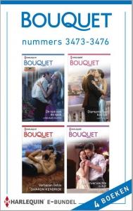 Bouquet e-bundel nummers 3473-3476, 4-in-1 - Een uitgave van de romantische reeks Harlequin Bouquet