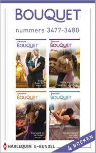 Bouquet e-bundel nummers 3477-3480, 4-in-1 - Een uitgave van de romantische reeks Harlequin Bouquet