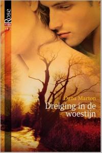 Dreiging in de woestijn - Een uitgave van Harlequin Black Rose - romantische thriller