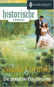 De preutse courtisane - Een uitgave van de romantische reeks Harlequin Historische Roman