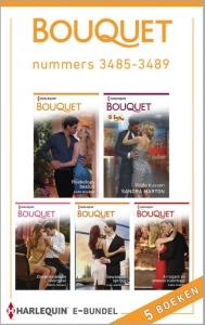 Bouquet e-bundel nummers 3485-3489, 5-in-1 - Een uitgave van de romantische reeks Harlequin Bouquet - eBundel