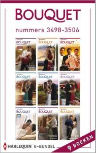 Bouquet e-bundel nummers 3499-3506, 9-in-1 - Een uitgave van de romantische reeks Harlequin Bouquet - eBundel