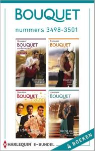 Bouquet e-bundel nummers 3498-3501, 4-in-1 - Een uitgave van de romantische reeks Harlequin Bouquet - eBundel